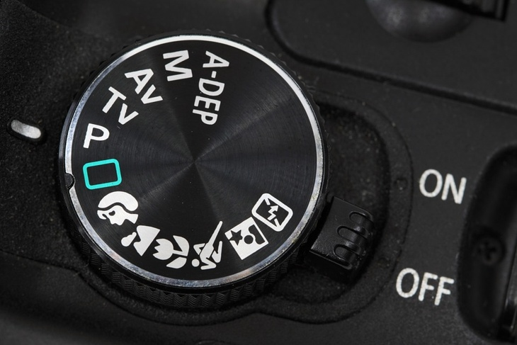 kamerapgrogramme einstellrad